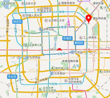鸟州力北京地図