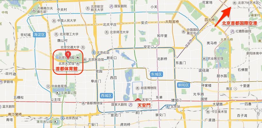 首都体育館地図
