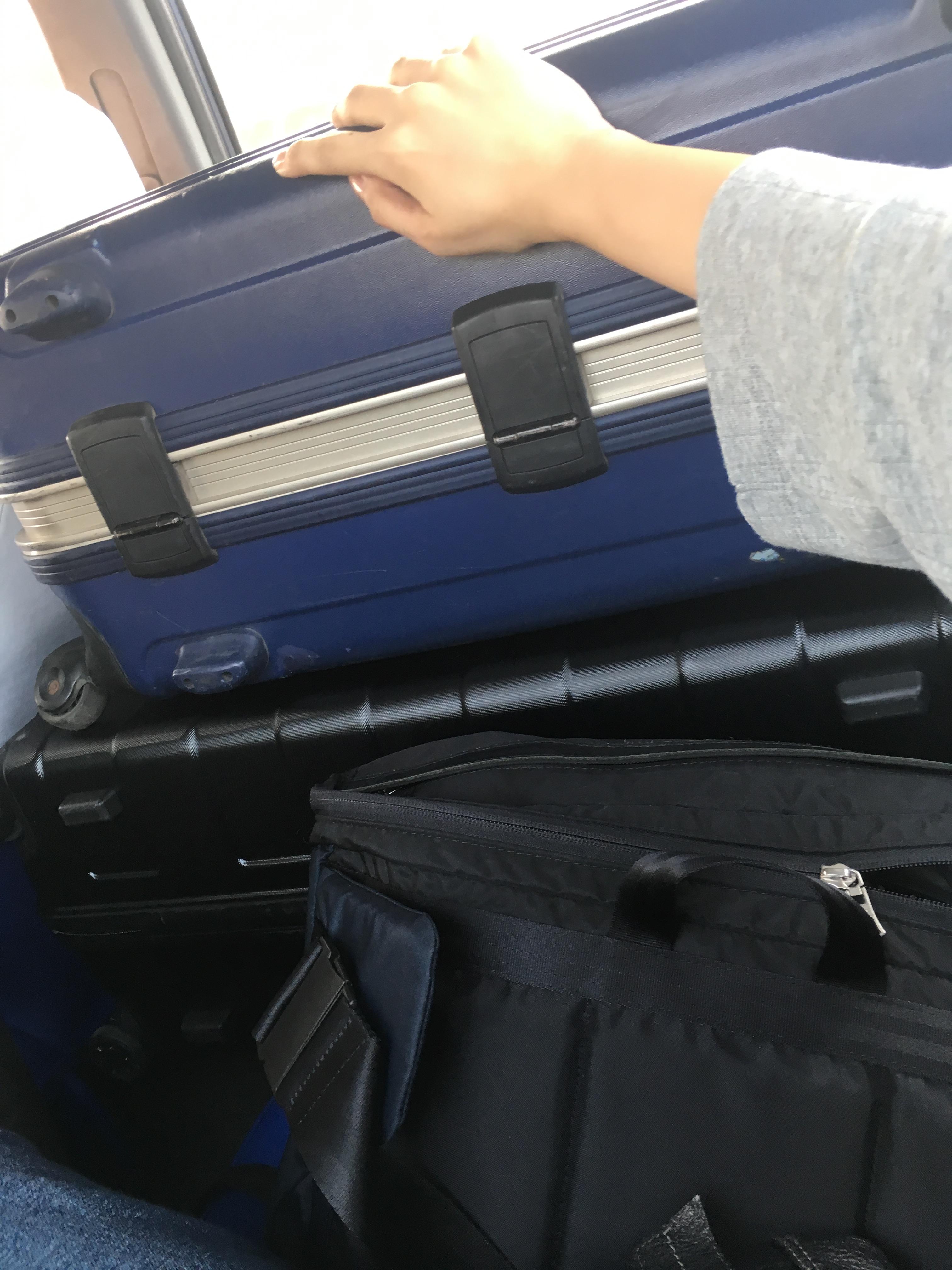 一時帰国スーツケース