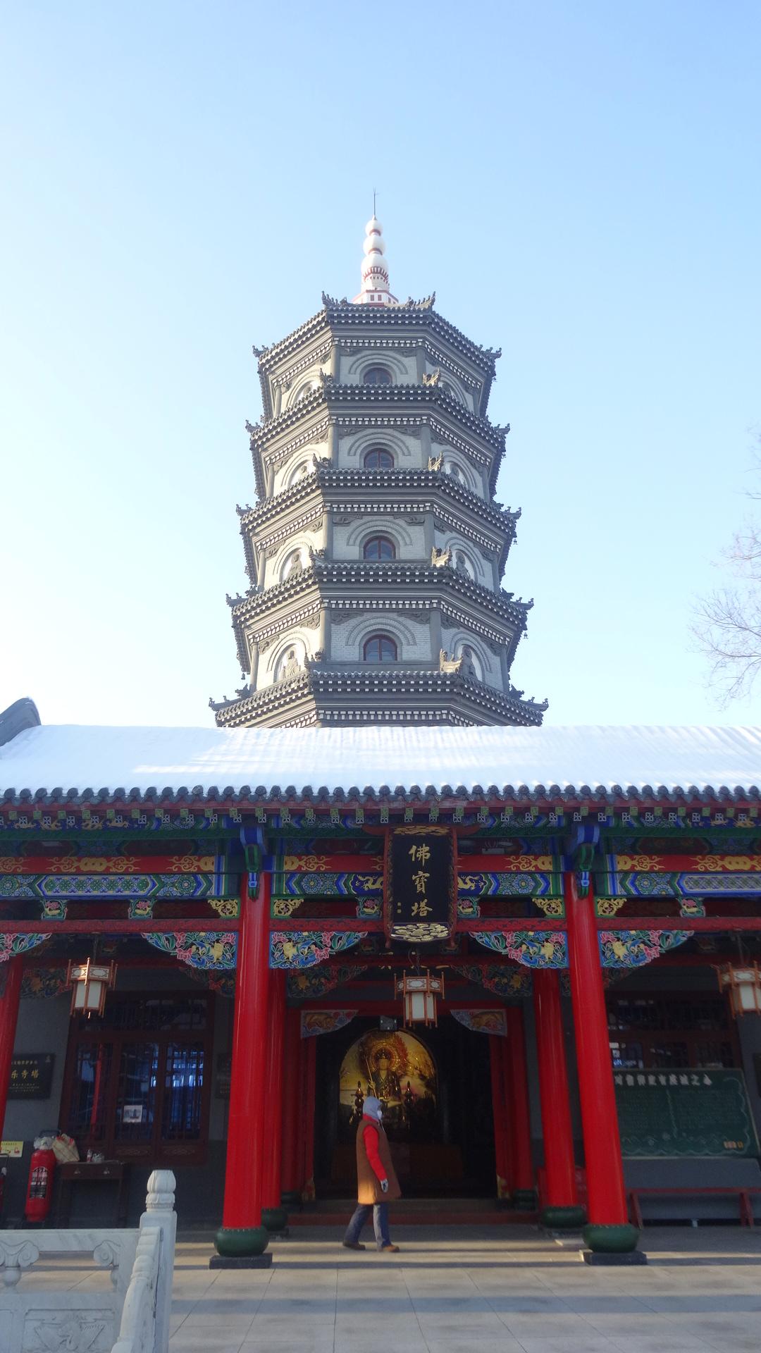 极乐寺七级浮屠塔