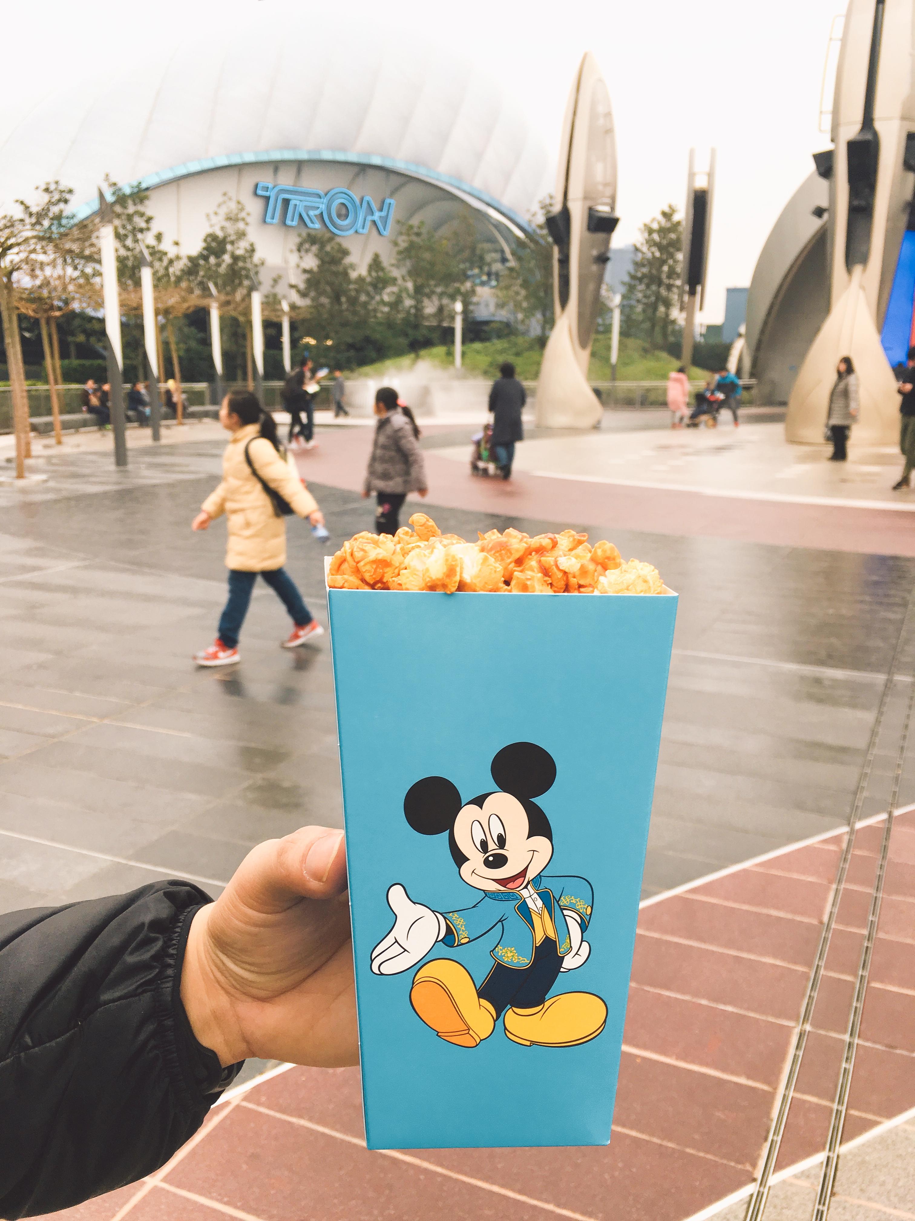 上海ディズニーランドポップコーン