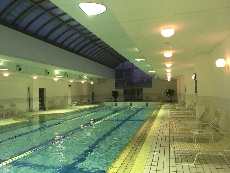 オークラガーデンホテル上海プール