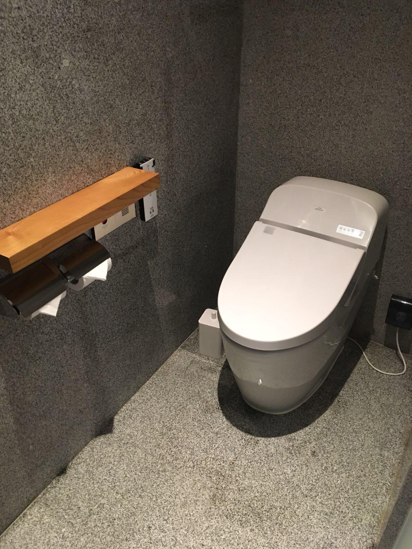 深圳MUJI HOTELトイレ
