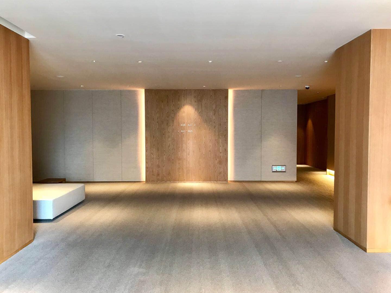 深圳MUJI HOTELエレベーターホール