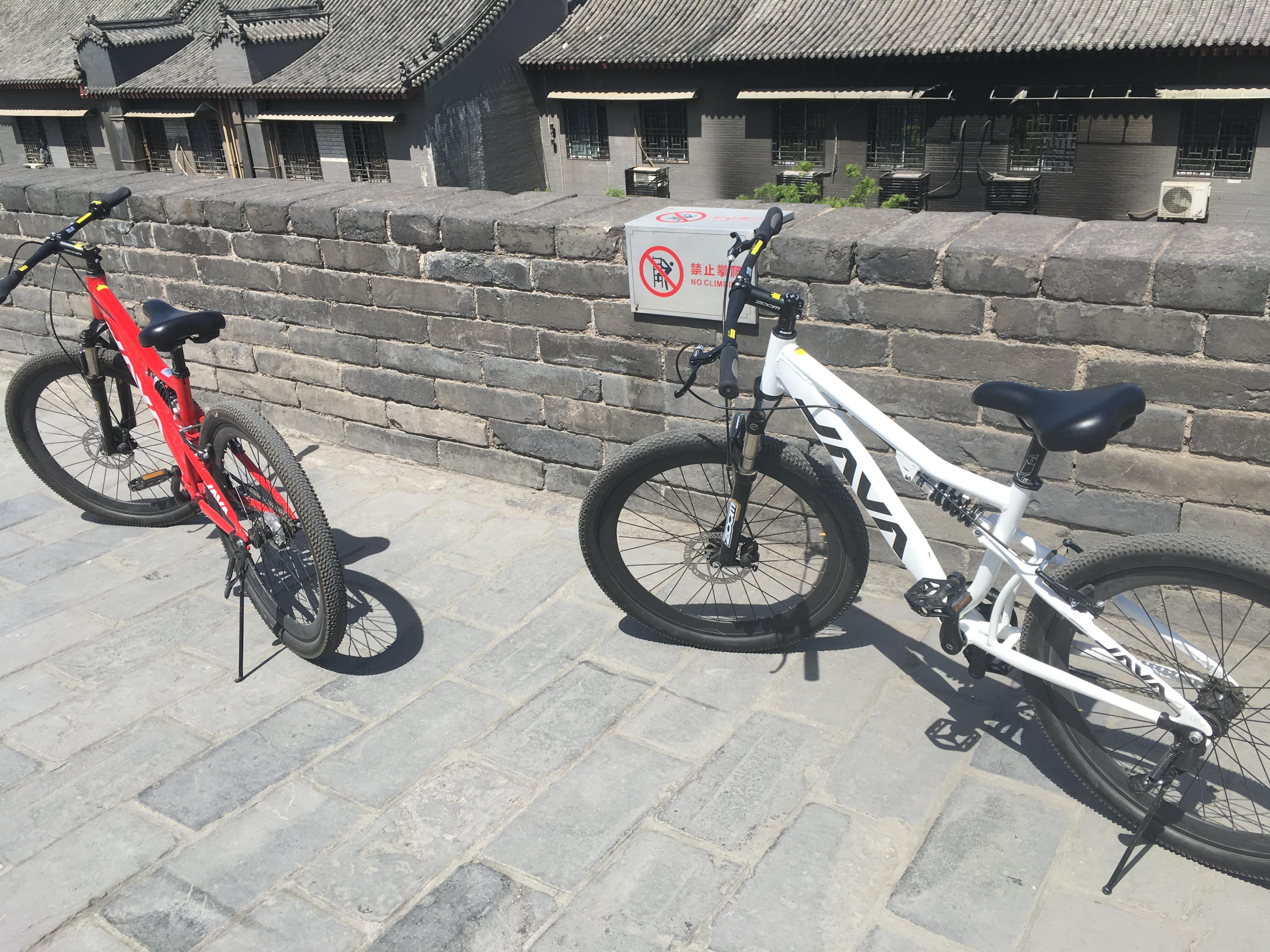 西安城壁サイクリング