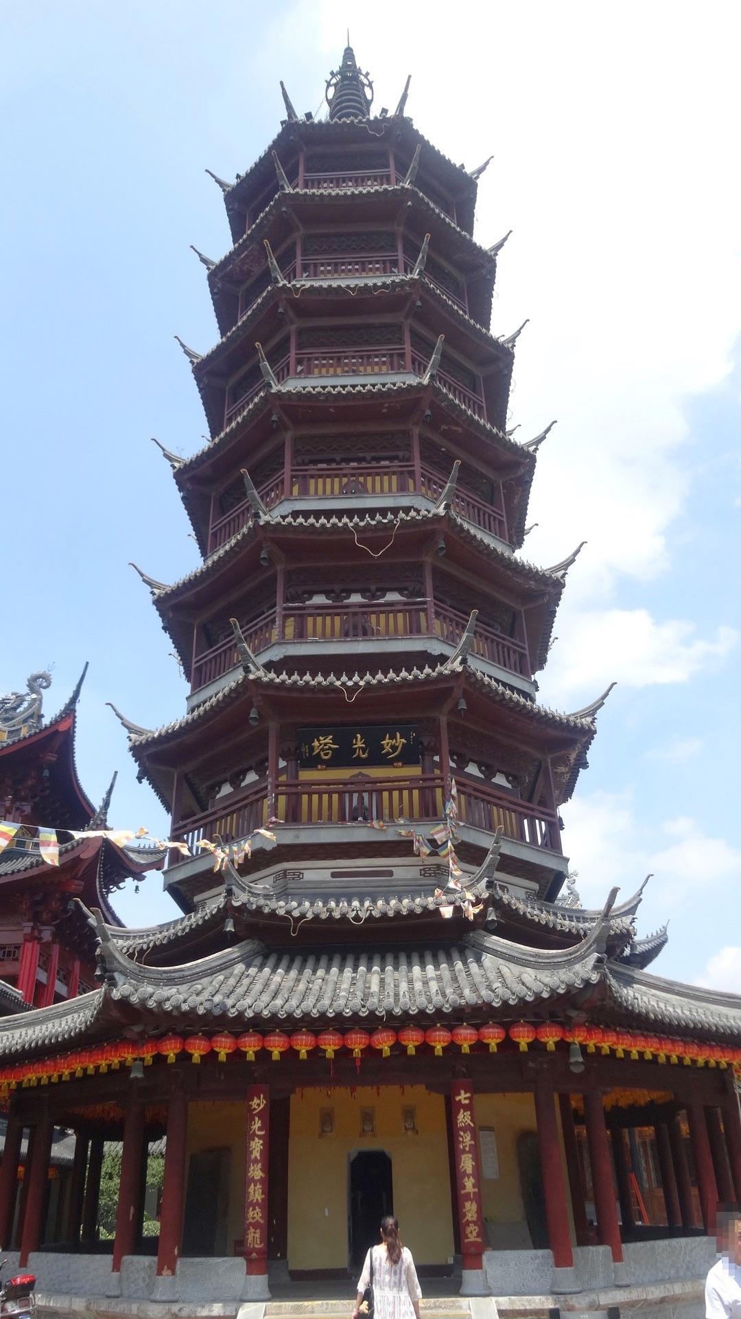 無錫南禅寺妙光塔