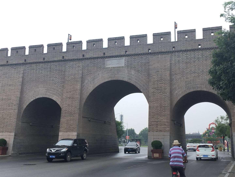 正定寺廟群城壁