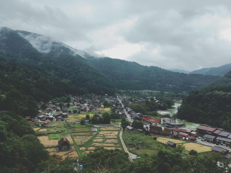 白川郷展望台
