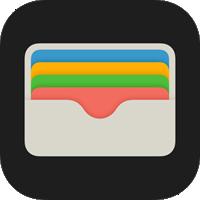 iphone walletアプリ