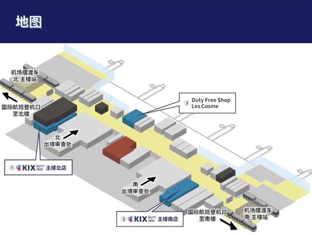 関西国際空港免税店KIX