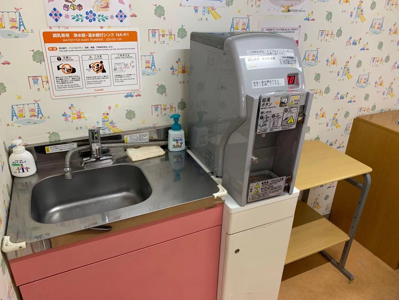 関越自動車道 高坂SAの授乳室