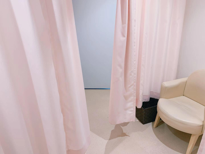 アクアパークの授乳室